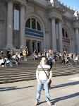 Me in front of the 'Met'