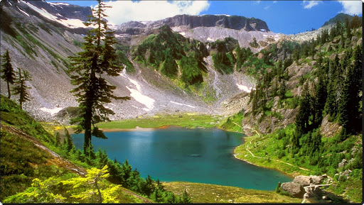 Alpine Jewel, Bagley Lake, Mount Baker Wilderness, Washington.jpg