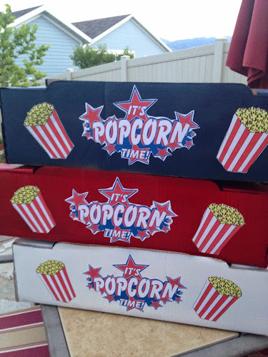 Popcorn vendor tray tutorial, popcorn vendor costume