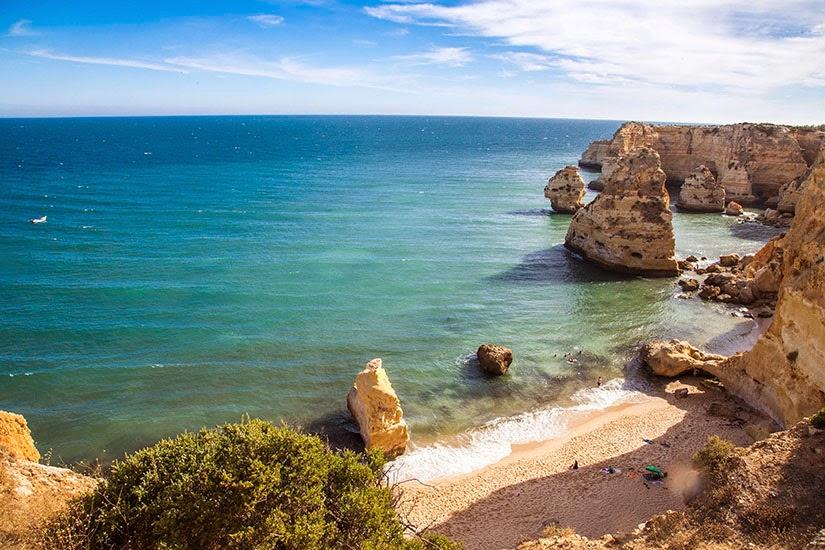 Playa Marinha, Algarve