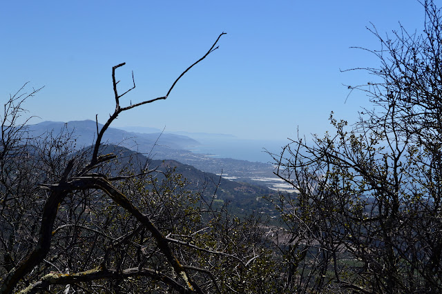 looking down the coast to Carpinteria and beyond