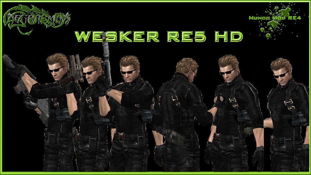 [MOD] Paquete Albert Wesker RE5 HD 2