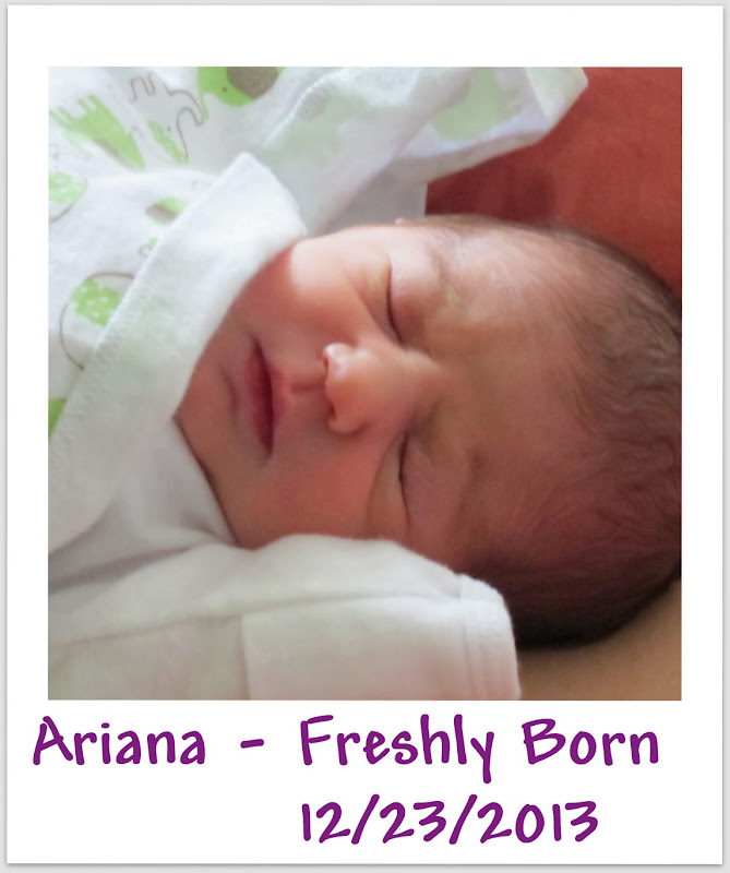 Happy 1st Birthday from Spirit of Life to Ariana