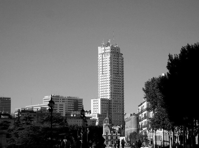 Torre de madrid viendo madrid for Dhl madrid oficinas