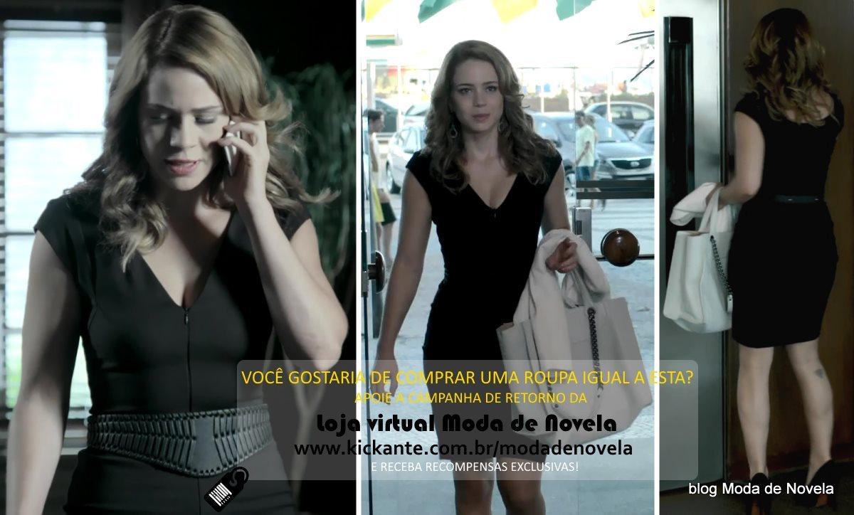 Moda da novela Império, look da Cristina dia 23 de janeiro de 2015