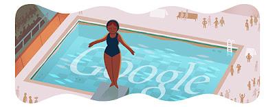 Google Doodle Wasserspringen