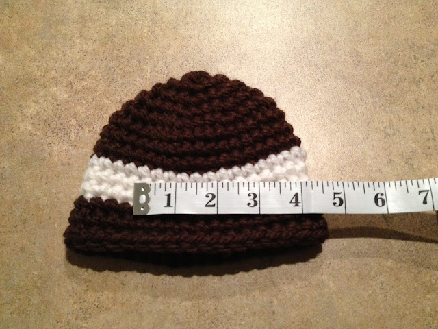 Diy Escapades Newborn3m Crochet Football Cocoon