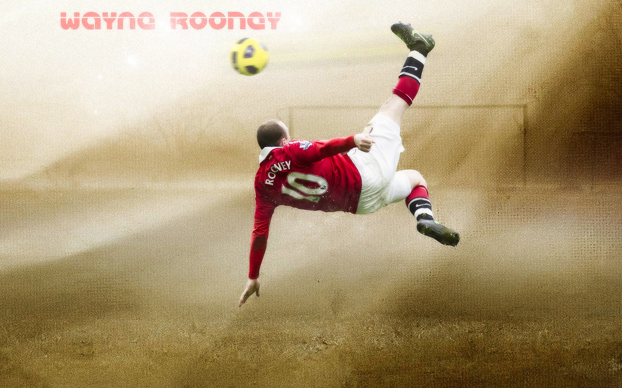 Wayne Rooney Bicycle Wallpaper