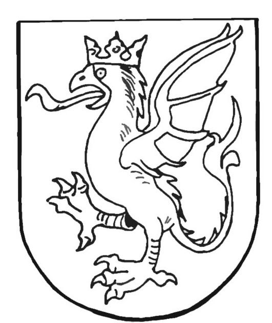 Middle age shield coloring pages coloring pages for Middle ages coloring pages