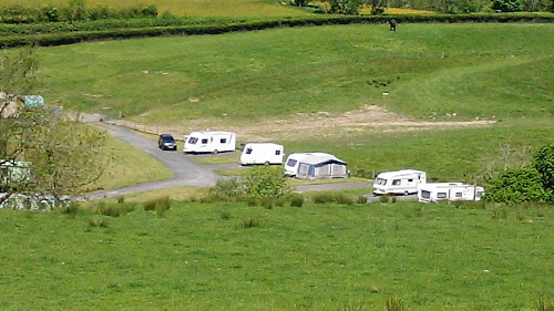 Camping  at Cross Hall Caravan Park