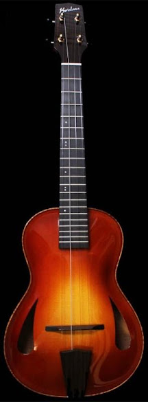 Ko'Olau Maple Archtop Acoustic Tenor Ukulele