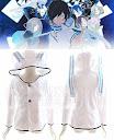 putih,hibiki kuze,polar fleece, Hoodie, hoodie korea murah, korea, murah, warna, Pre Order, fashion korea, hoodie lucu