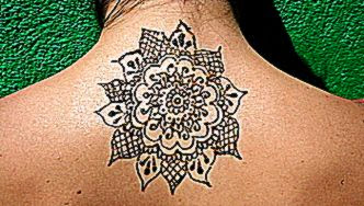 Indian Body art