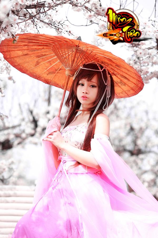 Chibi Bunny tung cosplay Mộng Tiên tuyệt đẹp 15