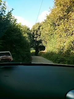 Roads in Cornwall