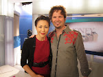 He's so happy to have a picture with Connie Chung