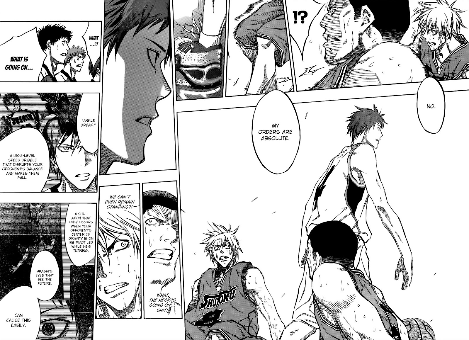 Kuroko no Basket Manga Chapter 179 - Image 08-09