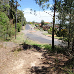 Looking back to the start of Bembooka Rd (236000)