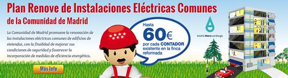 Plan Renove 2015 de Instalaciones Eléctricas Comunes en Edificios de Viviendas