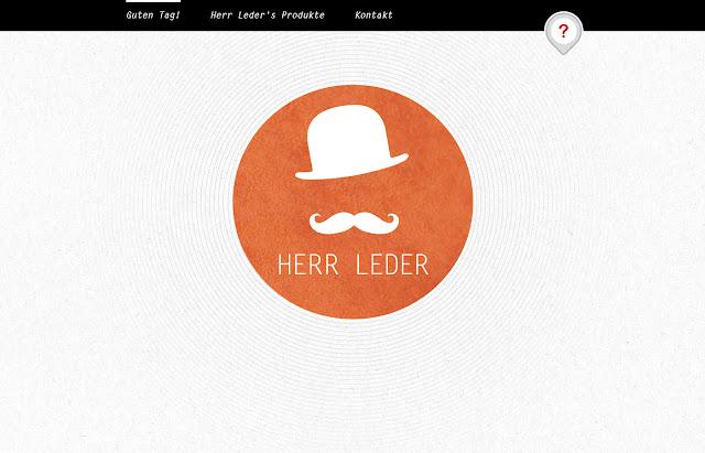 *來體驗鬍鬚紳士的滑動魅力吧!:HERR LEDER Web Site 1
