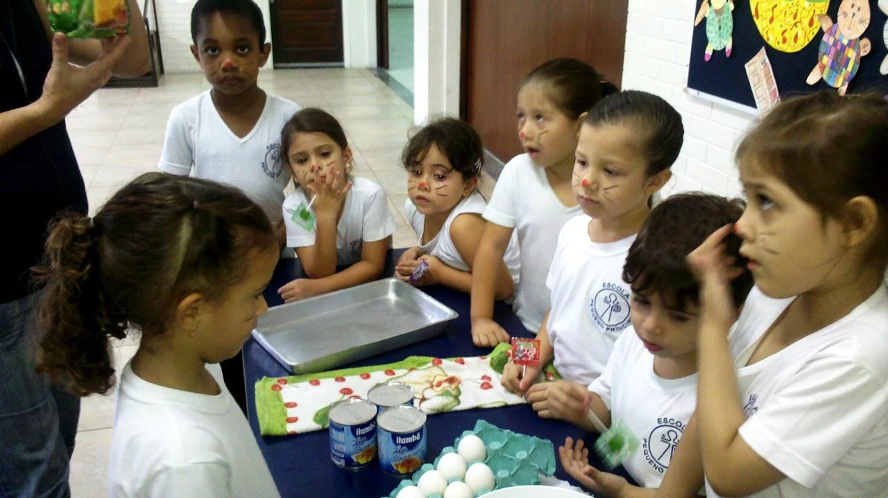 Bolo de Cenoura – Infantil ao 1º ano – Unidade I – 2013