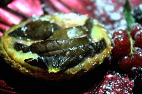 Fig tart at Mamounia Lounge