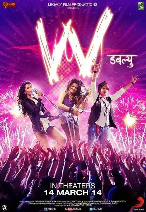 Cover of W (2014) Hindi Movie Mp3 Songs Free Download Listen Online at alldownloads4u.com