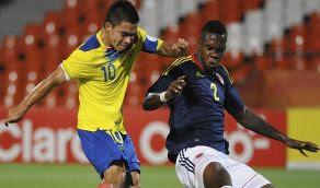 Goles Colombia Ecuador [2-1]Sub20 20Enero RESULTADOS
