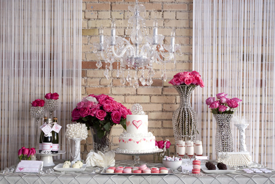 Glam Dessert Table