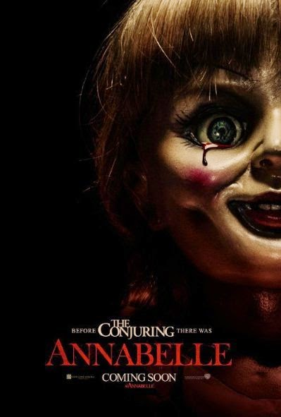 Poster Of English Movie Annabelle (2014) Free Download Full New Hollywood Movie Watch Online At Alldownloads4u.Com
