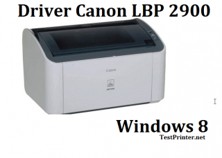download Canon LBP-2900 for Windows 8/8.1 32 bit printer's driver