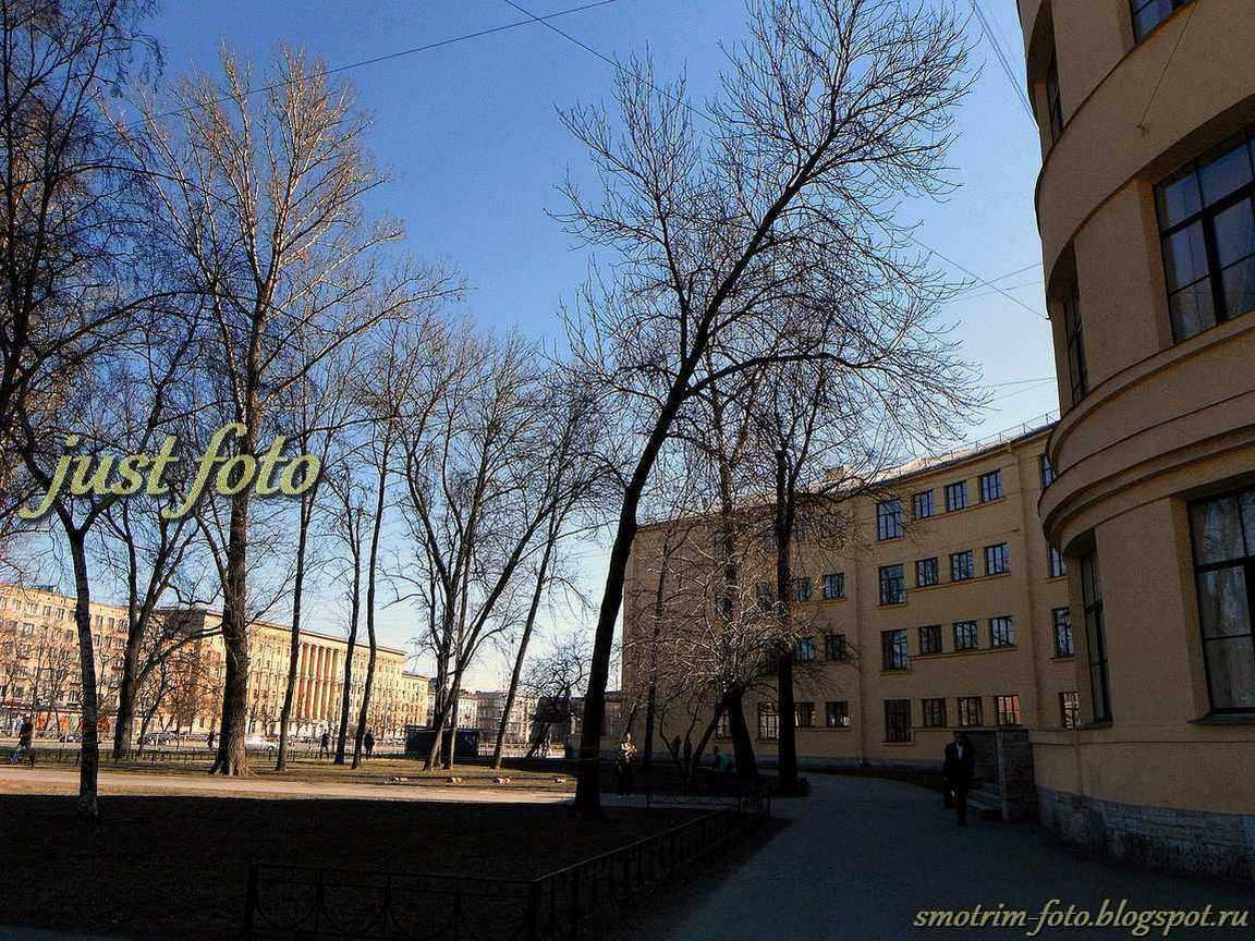 Памятник конструктивизма - школа Стачек 11 фото