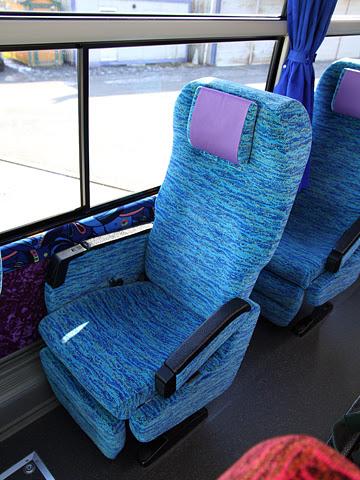 北海道バス「釧路特急ニュースター号」・993 シート