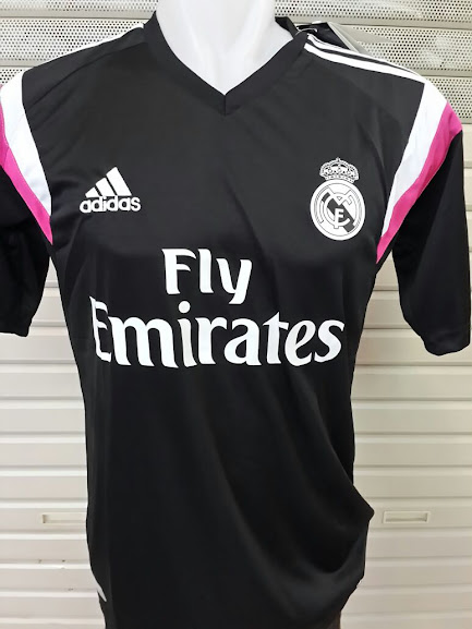 Jual Jersey Training Real Madrid Hitam 2014-2015