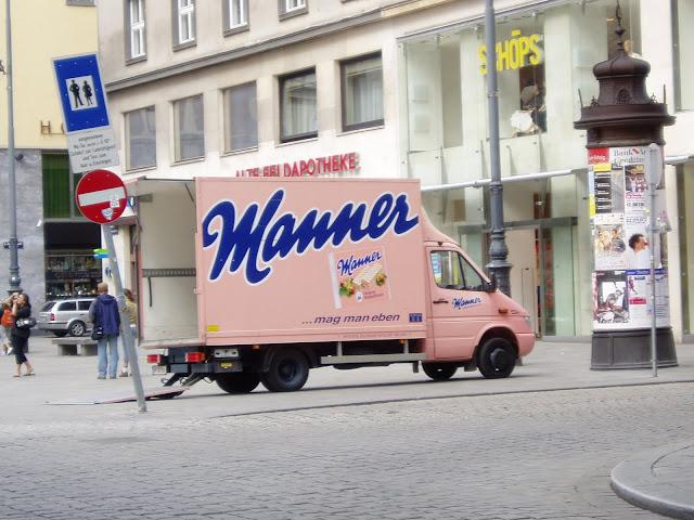 Manner truck, Vienna