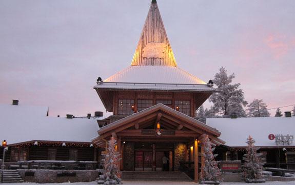 Het kantoor van de Kerstman in Rovaniemi