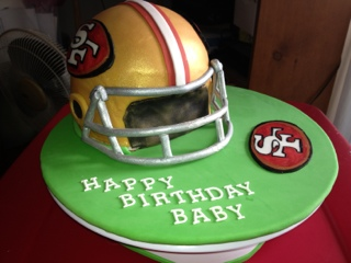 Our Decorated Cakes And Cupcakes San Francisco 49ers