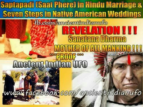 Saptapadi Saat Phere In Hindu Marriage And Seven Steps In Native American Weddings
