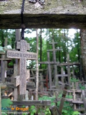 las krzyży w Grabarce