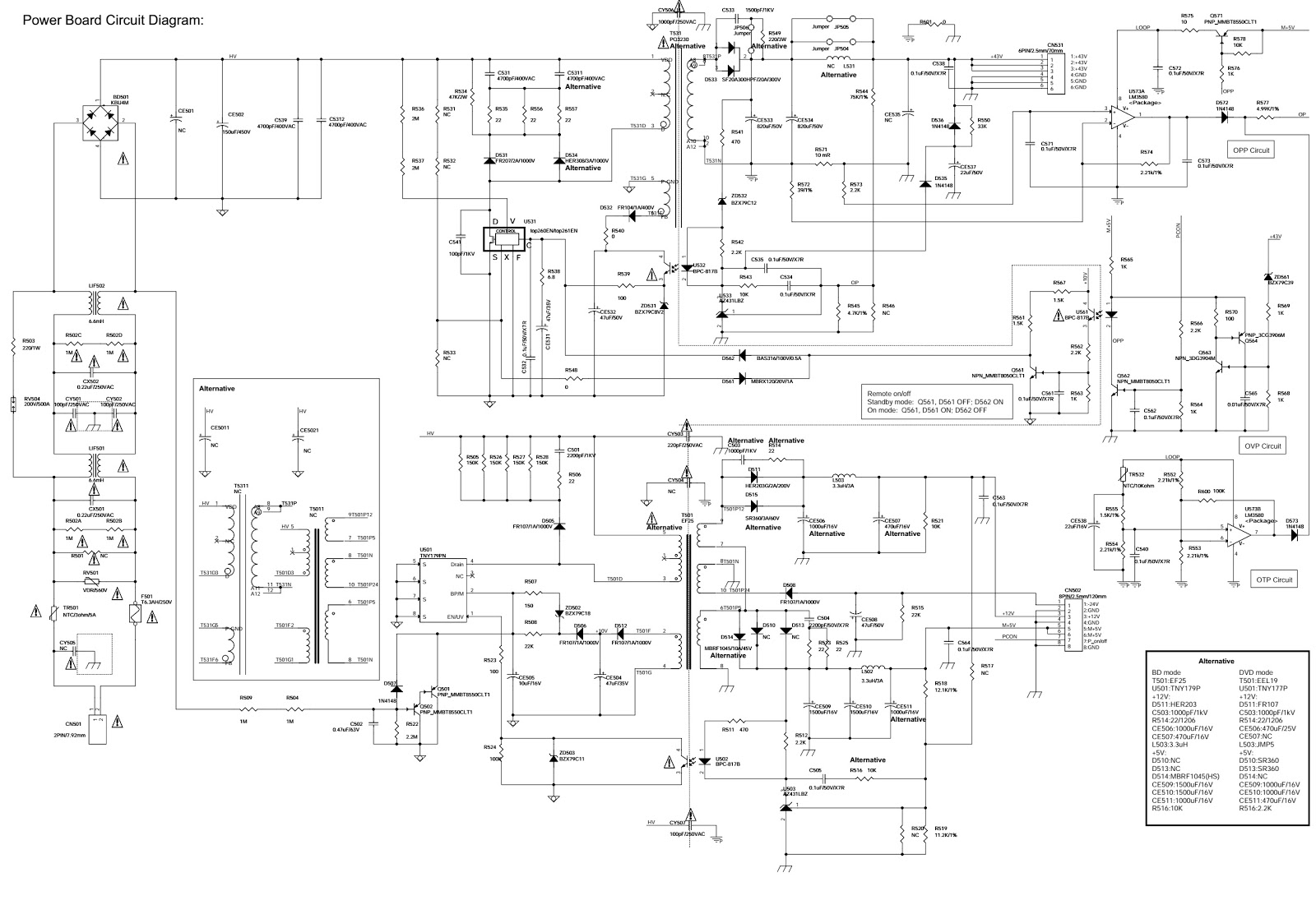 Philips Hts3538 Smps And Power Amplifier Circuit Diagram Software To Magnify Schematic Tv Led Click On The Schematics Zoom In
