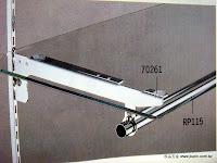 裝潢五金 品名:WH-棚板吊管支架 規格:30CM/35C/ 顏色:銀/金色 玖品五金