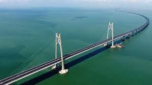 Hong Kong - Zhuhai - Macau bridge