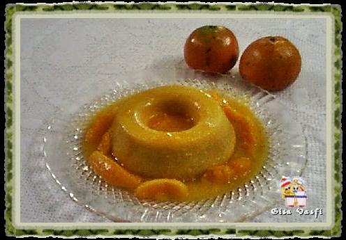 Pudim de tangerina 1