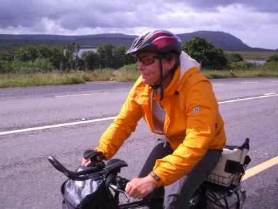 Radfahrn auf Irland: Immer gegen Wind und den nächsten Regenschauer gewappnet