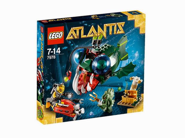 7978 レゴ アトランティス アングラーアタック