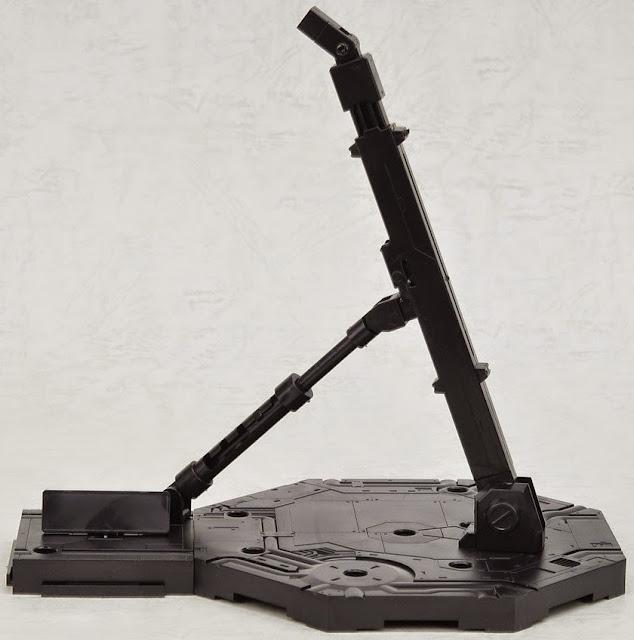 Chân đế dựng Gundam hình lục giác màu đen Action Base 1 Black cử động linh hoạt