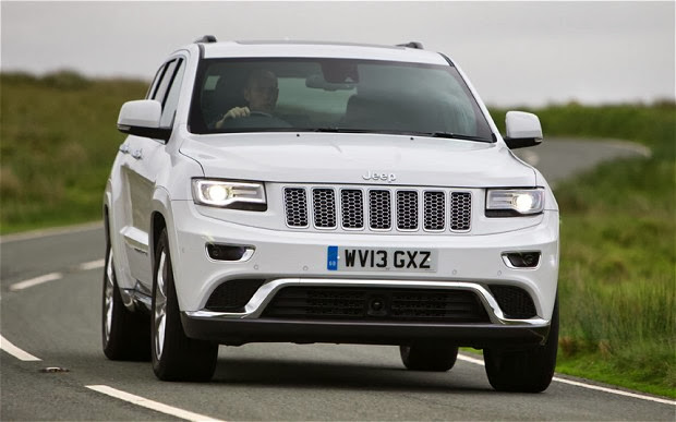 Jeep Grand Cherokee 2014 CRD V6 Front View
