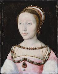 UNKNOWN Portrait of Françoise de Longwy 16th century