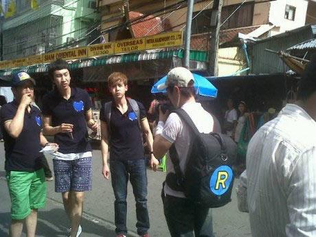 ภาพจาก Running Man ณ BKK เผยออกมาแล้ว