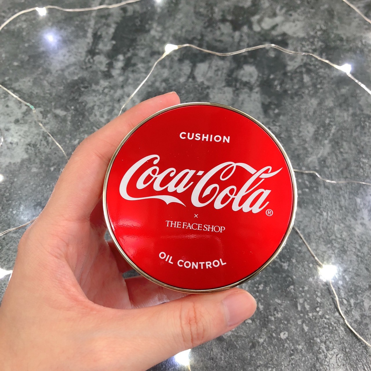 The Face Shop x Coca Cola Oil Control Cushion